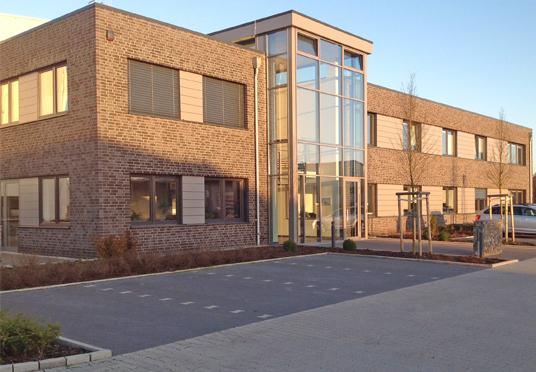 Neubau Produktionshalle mit Büro